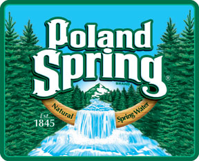Poland Spring Label
