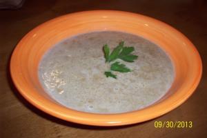 Butternut squash chowder